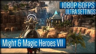 Might & Magic Heroes VII Gameplay PC HD [1080p 60FPS]