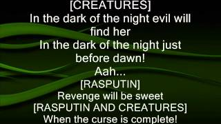 Anastasia - In the Dark of the Night (Lyrics)