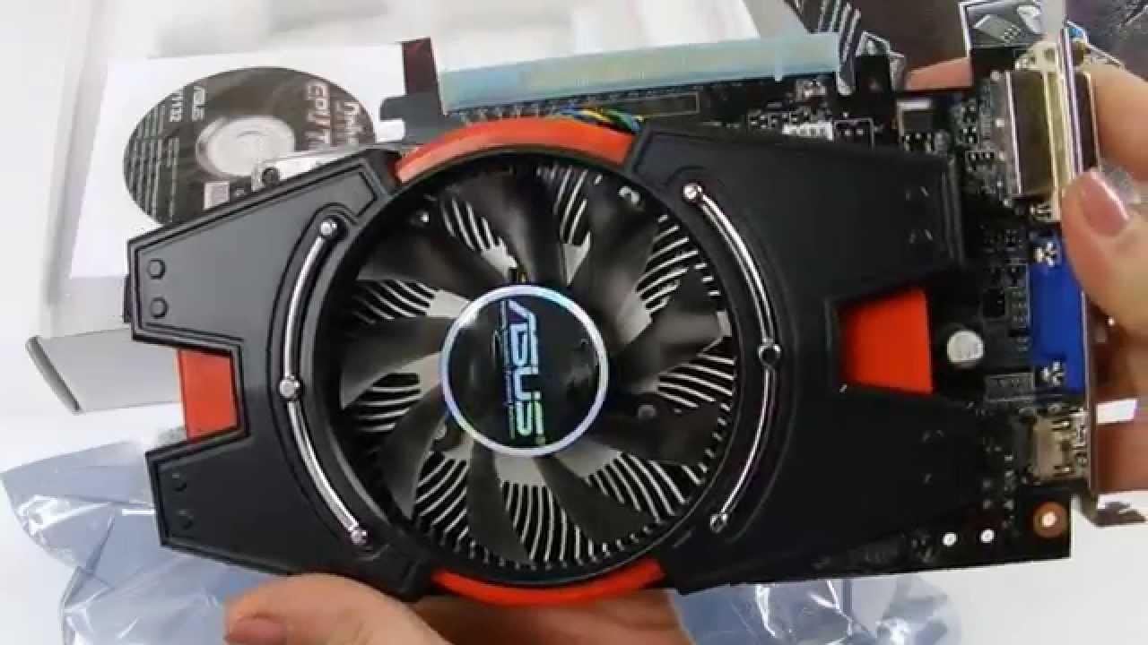 Видеокарта ASUS GeForce GTX650 (GTX650-E-1GD5) | unboxing - YouTube