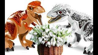 ИНДОМИНУС РЕКС - Подснежники для поздравления мамы... Про динозавров Истории Игрушек Розыгрыш Приза