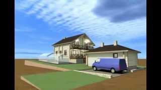 Проект дома 9х9 с баней 5*8 на 6-ти сотках.(В доме пять спален, в бане комната отдыха, помимо парной, мойки и топочной. Заказать проект или дом http://consult-bui..., 2015-10-17T08:04:52.000Z)