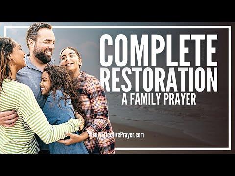 Prayer For Family Restoration   Family Restoration Prayer