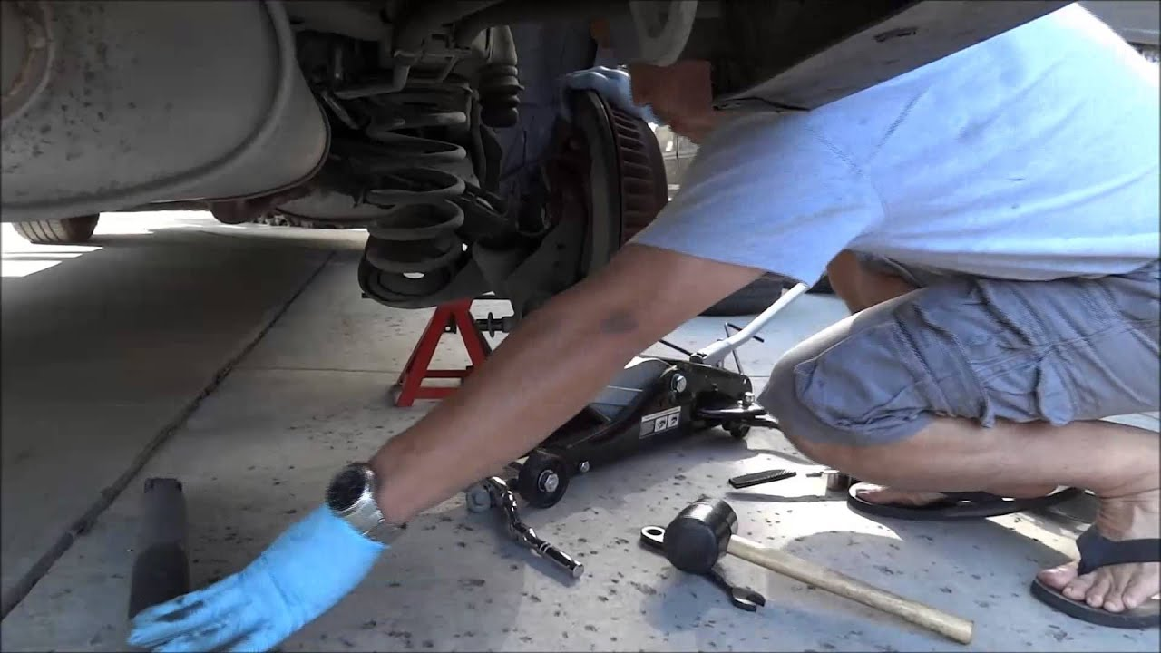 Toyota Sienna rear shocks replacement  YouTube