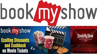 How to book movie tickets online in bookmyshow app and get cassback..[Hindi]