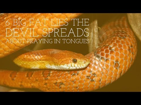 6 Big Fat Lies the Devil Spreads About Praying in Tongues