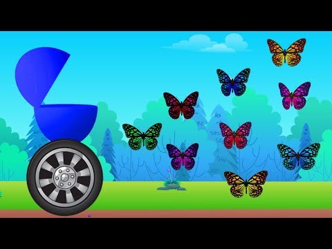Learn Colors For Children || Surprise Egg and Butterfly Colors Video For Kids || Nursery Rhymes thumbnail