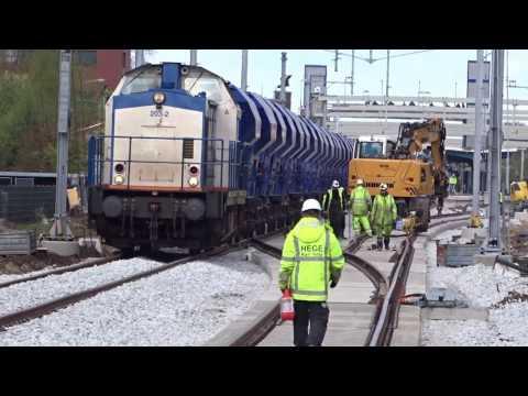 Dag 8 spoorwerk Assen Video 23-04-2017