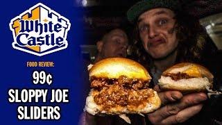 White Castle's 99¢ Sloppy Joe Sliders Food Review