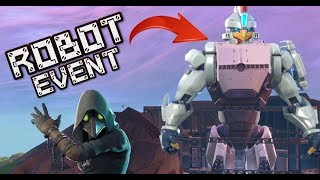 FORTNITE ROBOT EVENT - ARMS GETTING ADDED TONIGHT - LIVE COUNTDOWN - PLAYING WITH SUBSCRIBERS