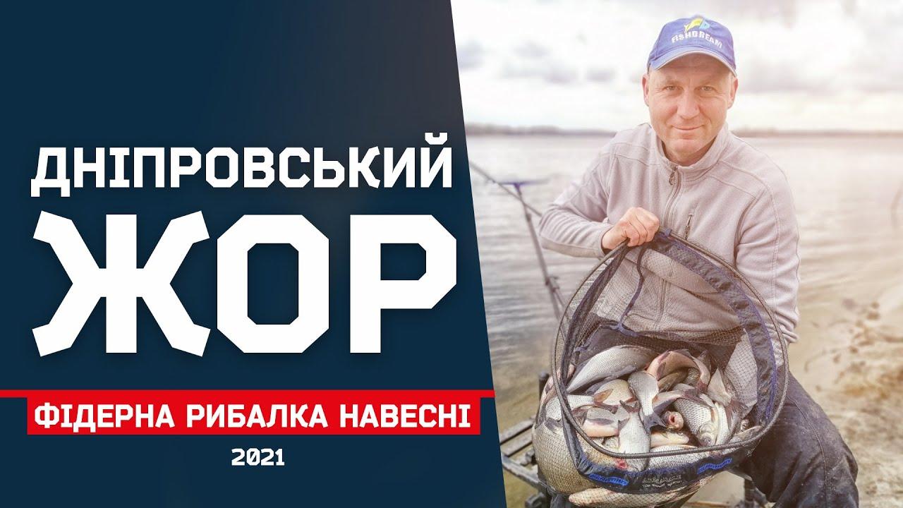 Як швидко наловити риби на Дніпрі весною