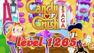 Candy Crush Saga Level 1265 - ★★