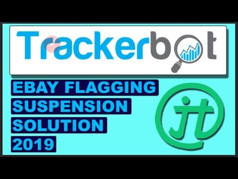 Ebay Flag and Suspension Problem Solved! with TRACKERBOT DropShipping Tool