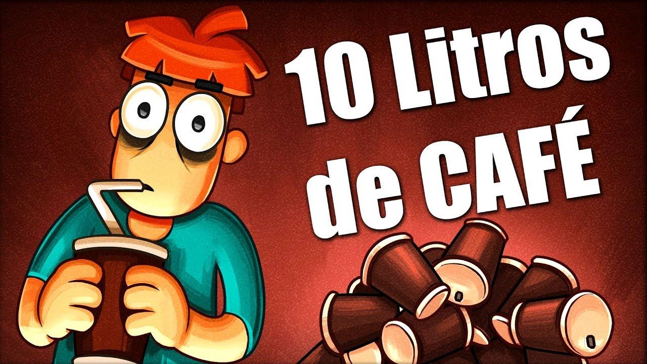 ¿QUÉ PASA SI BEBES 10 Litros de CAFÉ?