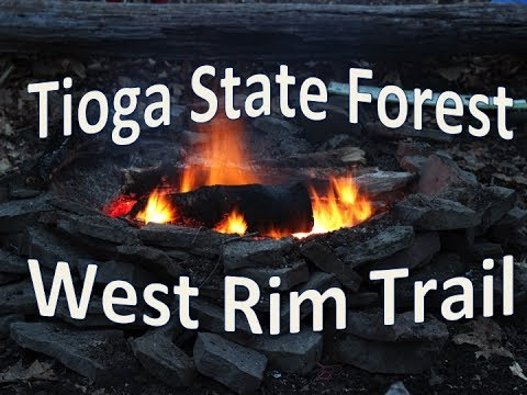 Tioga State Forest West Rim Trail