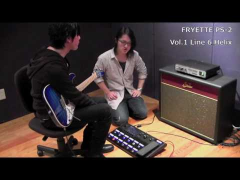 【MUSICLAND KEY】FRYETTE PS-2 POWER STATION × Line 6 Helix
