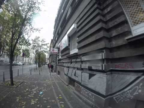 "Belgrade, Serbia... Go Pro Hero 3 of our ""Work and Travel Group "" street"