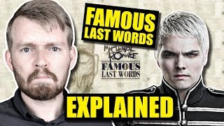 Скачать Famous Last Words By MCR Is SO Confusing Lyrics Explained