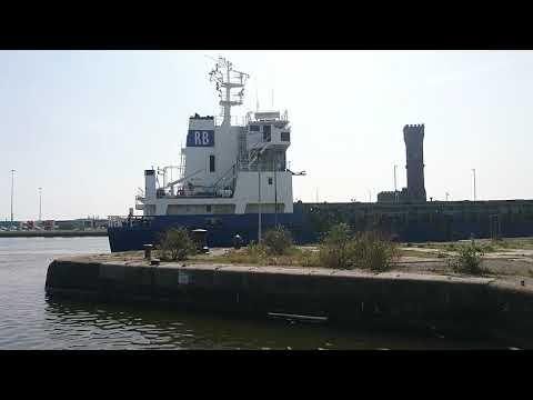 Shipping movements in Birkenhead