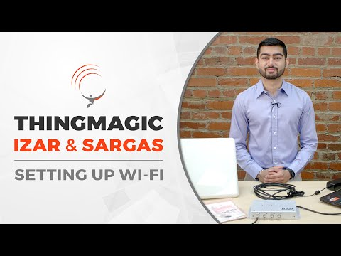 ThingMagic RFID Readers: Setting Up Wi-Fi On The Izar And Sargas