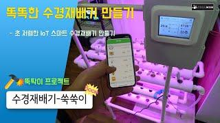 똑똑한 IoT 수경재배기 직접 만들기 (1)