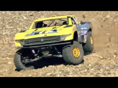 HPM Axial Score Trophy Truck - Suspension Dream on RC Super Truck !