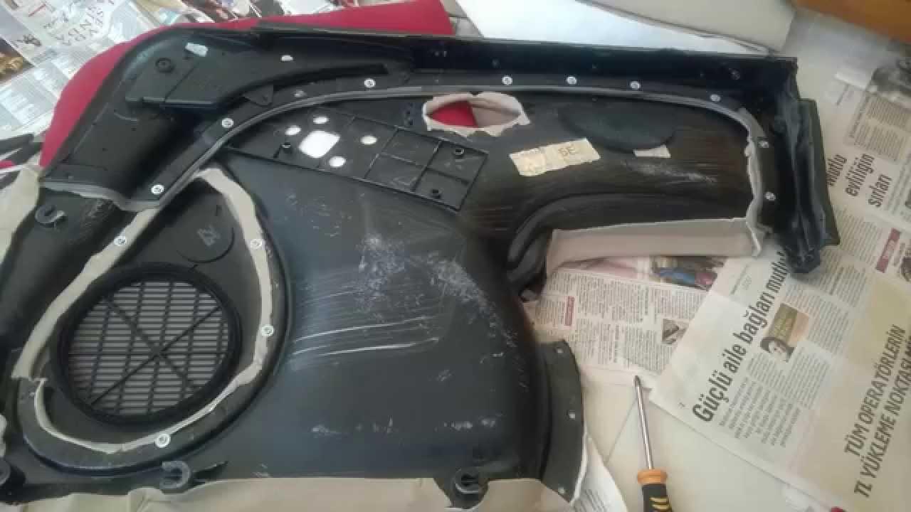 Door Panel Restoration (Rover 75) - YouTube