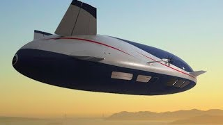 AEROSCRAFT How It Works World's Most Advanced Airship Commercial CARJAM TV 2014