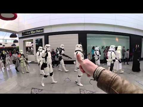 Legi n 501 en el centro comercial serrallo granada youtube - Centro comercial el serrallo ...