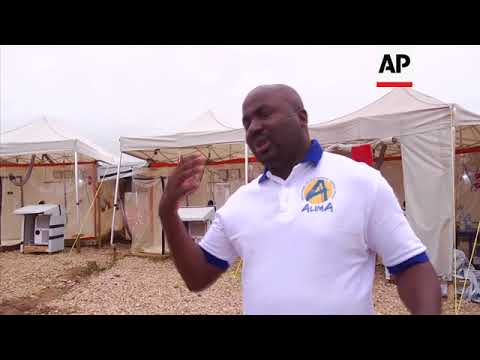 New Ebola treatment centre in DR Congo lets patients speak to relatives