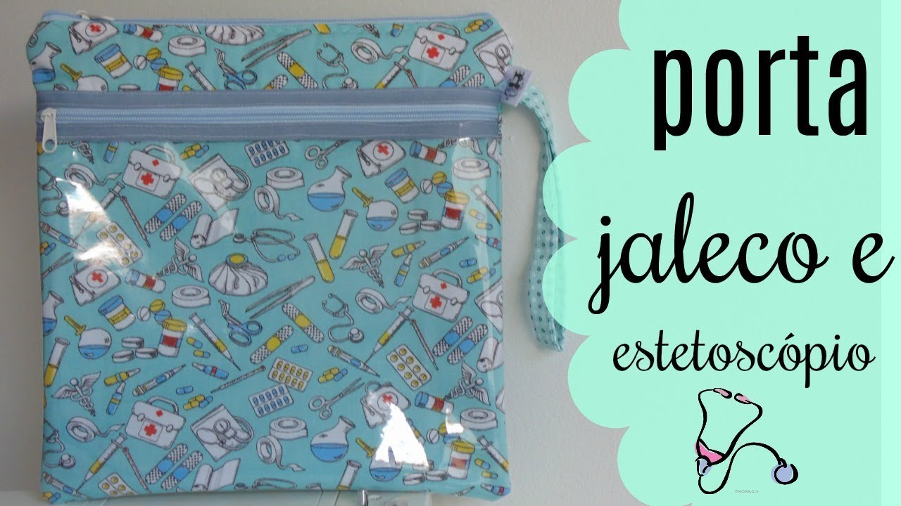 ee776c0f582d6c Bia Feltz: Porta Jaleco e Estetoscópio