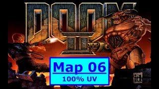 Doom II (1994) 100% Ultra-Violence MAP 06: The Crusher