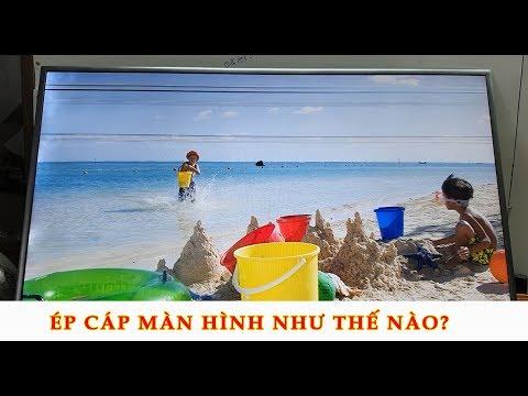 Thay màn hình TV samsung UA55NU7300k 1