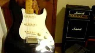 2-1997 Fender Hendrix Voodoo Stratocasters