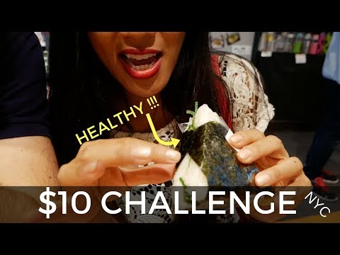 Live In NYC For $10 A Day? STAYING HEALTHY?