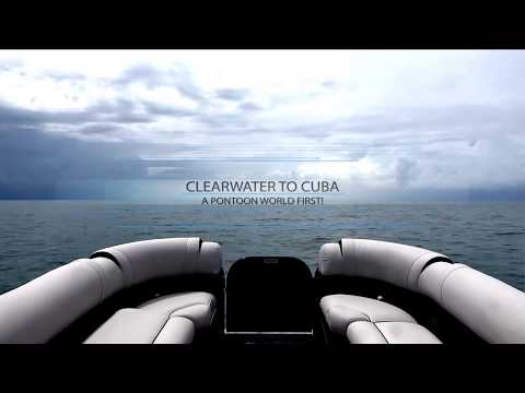 TRAILER: Clearwater to Cuba Pontoon Adventure | Avalon Luxury Pontoons