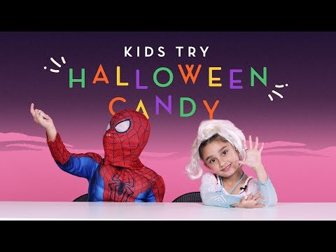 Kids Try Halloween Candy | Kids Try | HiHo Kids
