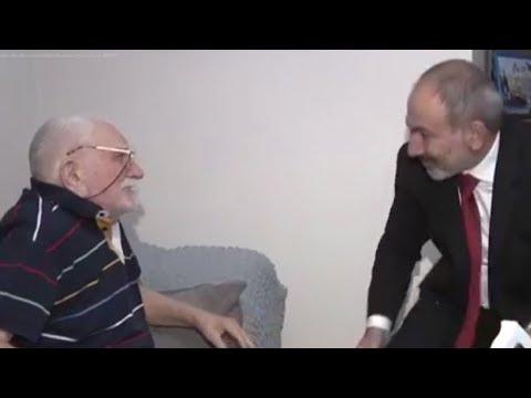 Пашинян в Москве навестил Джигарханяна
