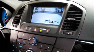 Added Factory Integrated Backup Camera to a 2013 Buick Regal