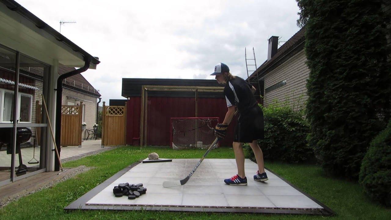 Hockey Snipes On Dryland Flooring Tiles Youtube