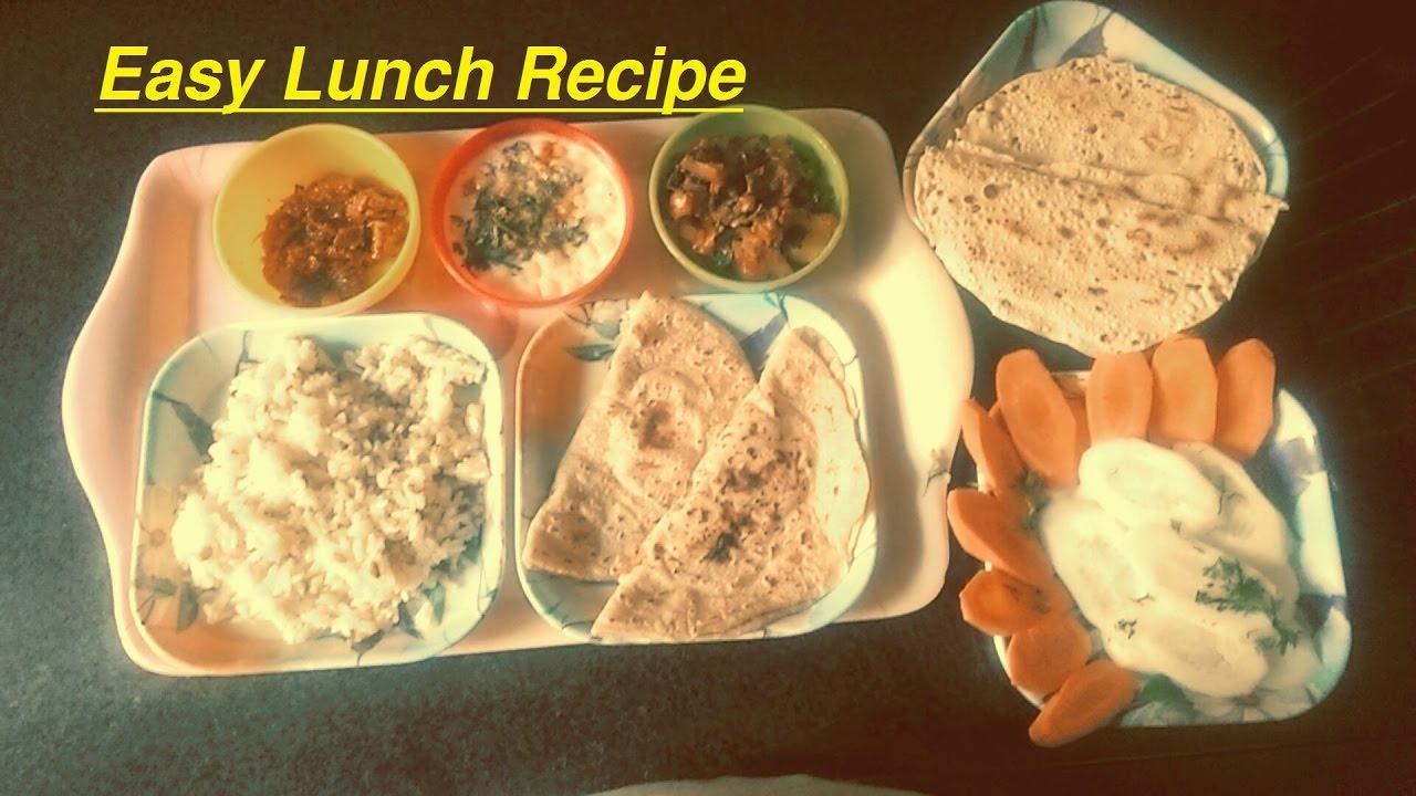 bhindi aloo sabzi in masala easy indian lunch recipes