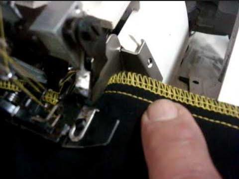 como ajustar, regular las tensiones de la overlock