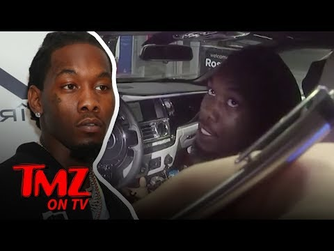 Offset Frustrated While Getting 3 Tickets During Traffic Stop  TMZ TV