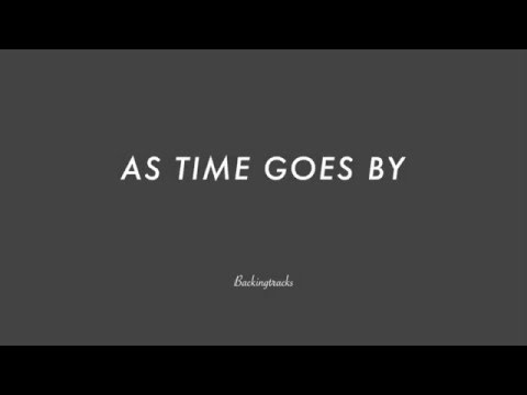 AS TIME GOES BY chord progression - Backing Track (no piano)