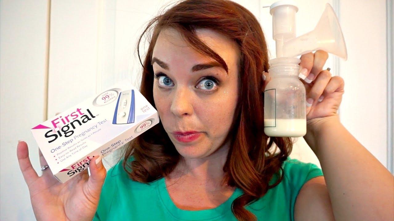 BREAST MILK PREGNANCY TEST | For Science!