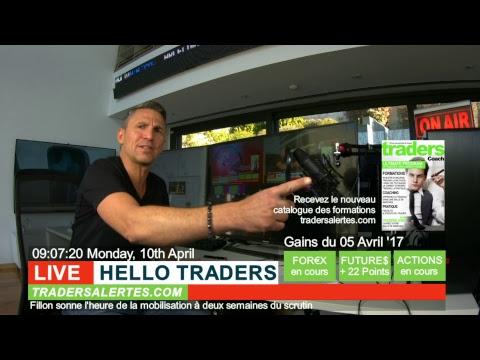 Emission Hello Traders du 10 Avril 17