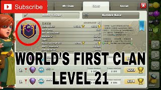 World's First CLAN LEVEL 21 in Clash Of Clans | 21 Clan Level 😱 | Clash With Bhargav | Hindi