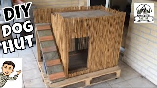 Diy Double Decker Hut / Two Level Kennel / Dog House