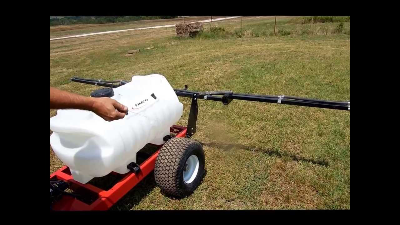 Fimco 60 gallon trailer sprayer for sale   sold at auction August 7, 2013