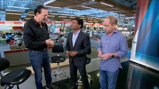 Feature interview with magicians Penn & Teller with Ian Hanomansing