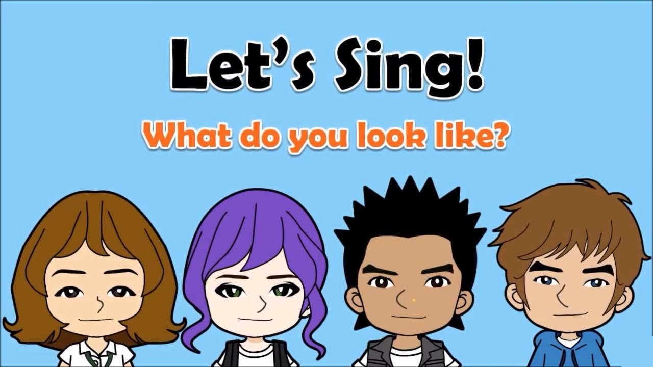 12 What Do You Look Like Song Describing People